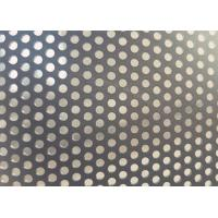 China Stain Black Decorative Perforated Aluminum Sheet1.6mm - 2mm Thickness on sale
