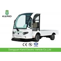 Buy cheap 72V AC Motor Electric Cargo Van Truck With Hydraulic Tail Lift , Loading Capacity 1.5 Ton from wholesalers