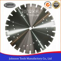 Standard 450mm Asphalt Cutting Blades Wide U Slots Laser Welded Diamond Saw Blades Manufactures