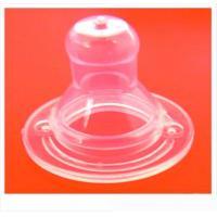 China goof grade liquid feeding bottle baby silicone nipple for sale