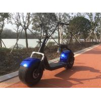 ISO9001 City Road 2 Wheel Citycoco E Scooter With EEC Certificate Manufactures