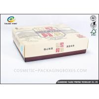 Eco Friendly Bakery Packaging Boxes , Paper Takeaway Boxes Rectangle With Drawer Manufactures
