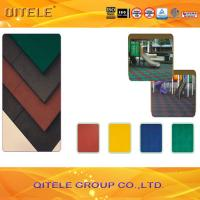 Outdoor Safety Play Mats , Rubber Safety Mats Outdoor Antislip Manufactures