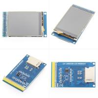 China 2.4 Inch Resistive Touch Lcd Screen Driver Board 16 BIT Module ILI9341 8/16 Bit Parallel Interface on sale