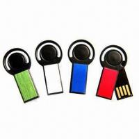 Metal Rotate Mini USB Flash Drives with High Speed, Suitable for Gift Manufactures