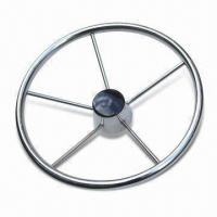 18-inch Steering Wheel, Made of Stainless Steel, Suitable for Boats Manufactures