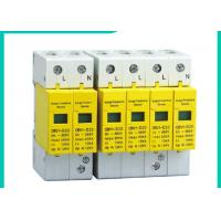 Quality 10~100kA Din Rail Surge Protector SPD , 220V/380V 3 Phase Surge Protection for sale