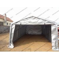 Silvery Gray Waterproof PVC Canvas Tent Single Tubular For Outdoor Exhibition Manufactures