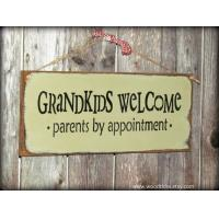 Wooden Sign Gift for the parents and grandparent Wooden wall hanging sign wooden plaque Manufactures