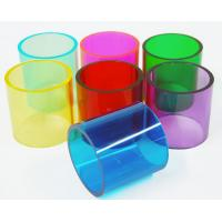 Customized 300mm Colored Opaque Acrylic Light Tube For Furniture Manufactures
