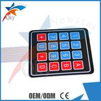 4 X 4 Matrix Keypad Membrane Switch Control Panel Electronic Components Manufactures