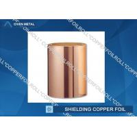 Quality Customized Red RA Copper Foil For Shielding , rolled copper foil sheet for sale