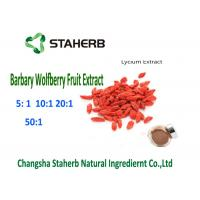 Quality Natural Barbary Wolfberry Goji Berry Extract 4/1 10/1 Ratio Brown Powder Anti - for sale