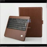 Detachable Bluetooth Keyboard Case with Leather Case for The New iPad Manufactures