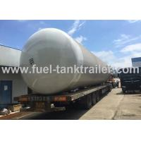 China 100 CBM LPG Storage Tank , Horizontal Lpg Tank Semi Trailer ISO9001 Certified on sale