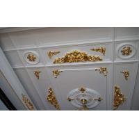 Quality White PU Decorative Cabinet Crown Moulding Line for Plain Panel for sale