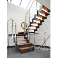 Stainless steel rod bar railing with round solid rod/ solid bar balustrade Manufactures