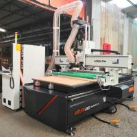 High Precision Programmable Wood Router , 3d Wood Router Machines With Emergency Stop Manufactures