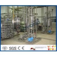 China 1000 - 100000LPH Ultra High Temperature UHT Milk Processing Line With Aseptic Package on sale