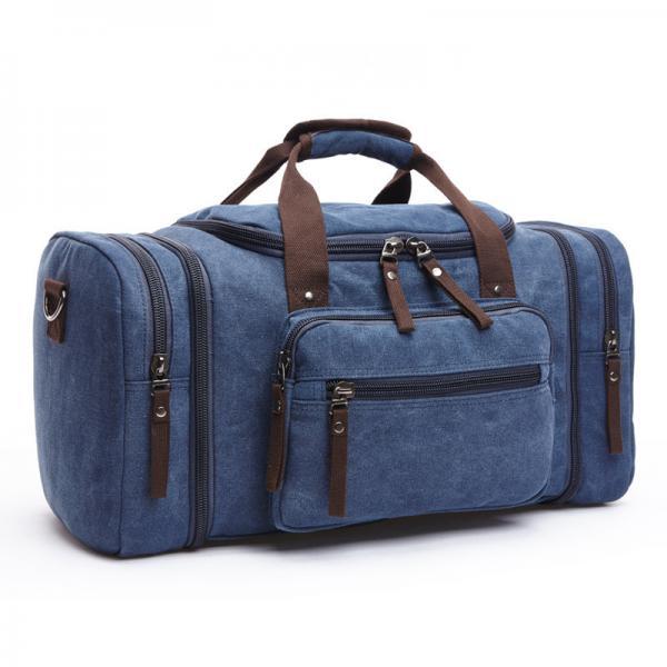 Quality 2017 Men Travel Bags Luggage Canvas Shoulder Duffle Bags Travel Handbag Weekend Bags Large Big Bag for sale