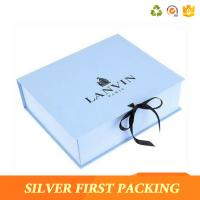Silver First custom decorative book shaped paper storage design gift boxes  with magnetic closure Manufactures