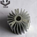 Round High Precision Forging Aluminum Heat Sinks 110 Diameter For LED PCB COB Manufactures