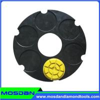 240mm Klindex Steel Base Velcro Plates with 3 Pins Manufactures