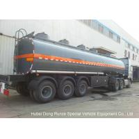30-45CBM Chemical Tanker Truck 3 Axles For Hydrochloric Acid , Ferric Chloride Delivery Manufactures