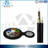 OEM Figure 8 ftth 12core self supporting outdoor fiber optic cable