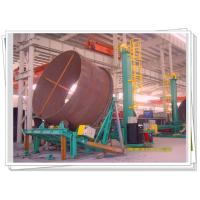 Accurate Rotation Tilt Adjustable Turning Roll For Wind Tower Flange Auto Welding Manufactures