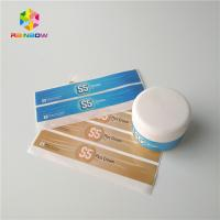 Cosmetics Products Shrink Sleeve Labels Waterproof Frozen Refrigerated Pearl Laser Manufactures