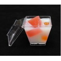 disposable plastic dessert cup with lid Clear Disposable Plastic Dessert Tumbler Cups Small Party Cups for sale