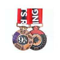 2 Sides Enamel Color Filled Custom Sports Medals Miraculous Kettlebell Lifting Sport Type Manufactures
