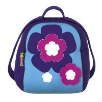 Flower Embroidered Personalized Kids Backpacks for School With Strap Adjustable Manufactures