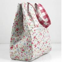 China Floral Tote Bags Insulated Cooler Lunch Bag for Women on sale