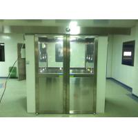 Three Side Blowing Stainless Steel Pharmaceutical Cleanroom Air Shower System 380V 60HZ Manufactures