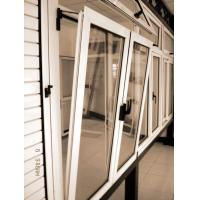 Double/Single Swing Aluminum Tilt & Turn Casement Awning Windows Manufactures