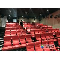 Commercial Electric 4D Cinema Theater For Scenic Sport / 4D Amusement Park Manufactures