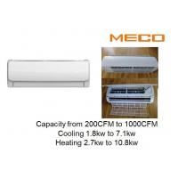 China 16000Btu 500CFM Wall Mounted Fcu , High Ductless Air Conditioning Units Build In Pump on sale