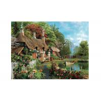 Idyllic Scenery 3D Lenticular Pictures Full Colour Printing For Hotel Manufactures