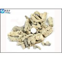 Microporous Coral Live Sand Fish Aquarium Gravel With PH Value For Sea Water Tanks Manufactures
