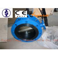 Ductile Iron Wafer Style Centerline Butterfly Valve Rubber EPDM Lined 2 - 48 Manufactures