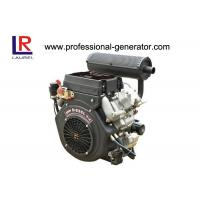 Four stroke 20HP Air Cooled Electric start  Diesel Engine by V Twin Manufactures