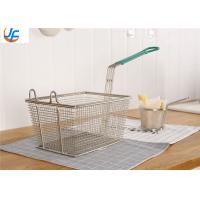 Kitchen Food Service Metal Fabrication Utensils Fry Baskets Rectangle Round Square Manufactures