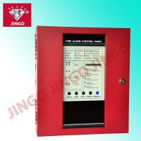 Conventional fire detection alarm 24V 2 wire systems controll panel 4 zones Manufactures