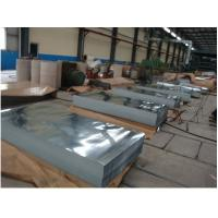 8 INCH Hot Dipped Galvanized Steel Sheet / Sheets Cold Rolled Galvanized  DX52D Z Manufactures