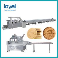 Stainless Steel Industrial Biscuit Manufacturing Process /Small Scale Biscuit Machine Manufactures