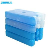 Non - Toxic Plastic Ice Packs White Colors For Food Storage MSDS Standard Manufactures
