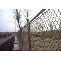 China Low Carbon Stee, Stainless Steel Diamond / Square Welded Wire Mesh Fences For River Banks on sale