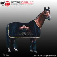corrugated cardboard display standee for horse shape Manufactures